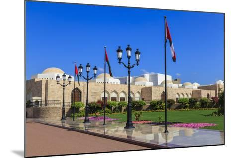 Polished Pavements, Old Muscat-Eleanor Scriven-Mounted Photographic Print