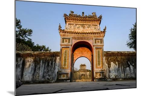 Gate, Tomb of Emperor Tu Duc of Nguyen Dynasty, Dated 1864, Group of Hue Monuments-Nathalie Cuvelier-Mounted Photographic Print