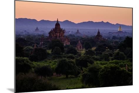 Buddhist Temples, Bagan (Pagan), Myanmar (Burma), Asia-Nathalie Cuvelier-Mounted Photographic Print
