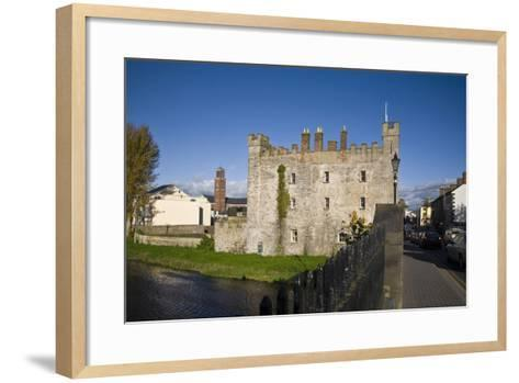 White's Castle,Bridge over the River Barrow,Athy, Co Kildare, Ireland--Framed Art Print