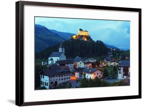 Scuol Tarasp (Tarasp Castle) (Schloss Tarasp), Engadine, Graubunden, Switzerland, Europe-Christian Kober-Framed Art Print