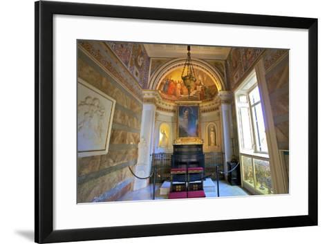 The Achilleion Chapel, Achilleion Palace, Corfu, the Ionian Islands, Greek Islands, Greece, Europe-Neil Farrin-Framed Art Print