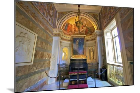 The Achilleion Chapel, Achilleion Palace, Corfu, the Ionian Islands, Greek Islands, Greece, Europe-Neil Farrin-Mounted Photographic Print