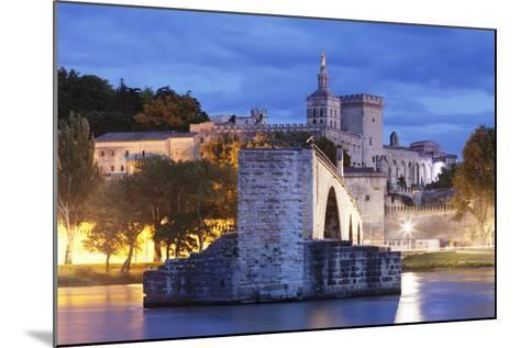 Bridge St. Benezet over Rhone River-Markus Lange-Mounted Photographic Print