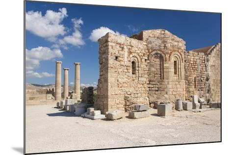 Remains of the Byzantine Church of Agios Ioannis on the Acropolis, South Aegean-Ruth Tomlinson-Mounted Photographic Print