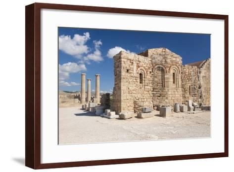 Remains of the Byzantine Church of Agios Ioannis on the Acropolis, South Aegean-Ruth Tomlinson-Framed Art Print