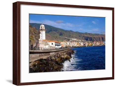 City of Candelaria in the Eastern Part of the Island of Tenerife, Canary Islands, Spain, Europe-Carlo Morucchio-Framed Art Print
