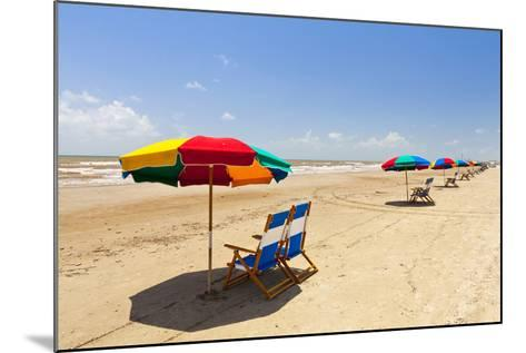 Stewart Beach, Galveston, Texas, United States of America, North America-Kav Dadfar-Mounted Photographic Print