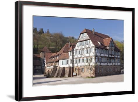 Kloster Maulbronn Abbey, Black Forest, Baden-Wurttemberg, Germany, Europe-Markus Lange-Framed Art Print
