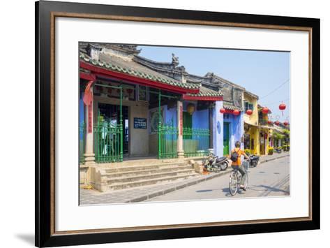 Trung Hoa Assembly Hall (Ngu Bang Assembly Hall), Hoi An, Quang Nam Province, Vietnam, Indochina-Jason Langley-Framed Art Print