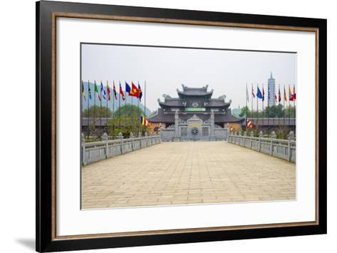 Bai Dinh Temple (Chua Bai Dinh), Gia Vien District, Ninh Binh Province, Vietnam, Indochina-Jason Langley-Framed Art Print