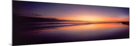 Beach at Sunrise, Papamoa Beach, Bay of Plenty, North Island, New Zealand--Mounted Photographic Print