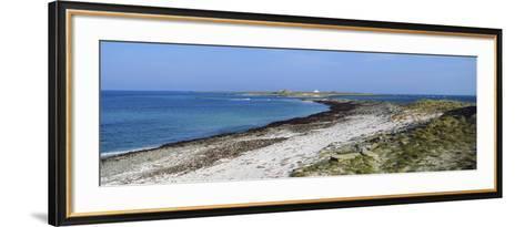 Start Point Lighthouse, Sanday, Orkney Islands, Scotland--Framed Art Print