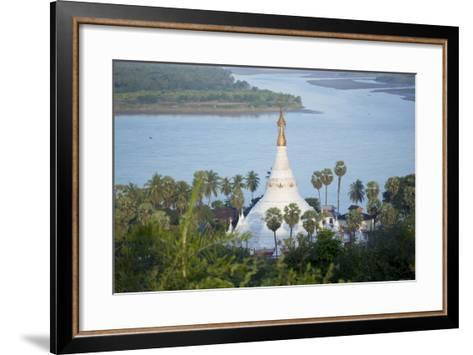 Views over the Thanlwin (Salween) River, Mawlamyine, Mon, Myanmar (Burma), Southeast Asia-Alex Robinson-Framed Art Print