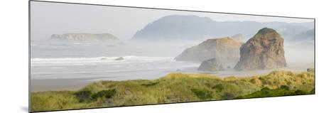 Rock Formations in the Ocean, Oregon Coast, Myers Creek Beach, Pistol River State Park, Oregon, Usa--Mounted Photographic Print