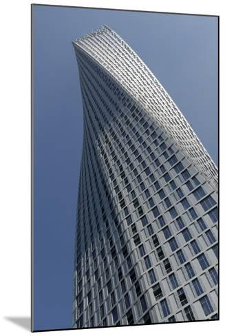Infinity Tower Features 495 Apartments in a Helical Shape That Swivels 90 Degrees from Base to Top-Bruno Barbier-Mounted Photographic Print