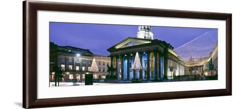 Gallery of Modern Art with Christmas Decorations, Glasgow City Centre, Glasgow, Scotland--Framed Art Print