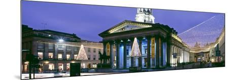 Gallery of Modern Art with Christmas Decorations, Glasgow City Centre, Glasgow, Scotland--Mounted Photographic Print