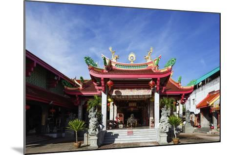 Chinese Temple, Phuket, Thailand, Southeast Asia, Asia-Christian Kober-Mounted Photographic Print