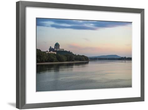 Esztergom Basilica, the Largest Cathedral in Hungary, Esztergom, Hungary, Europe-Michael Runkel-Framed Art Print