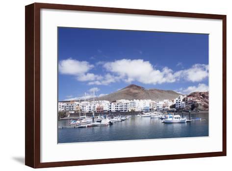 Sunset at South Coast Near La Restinga, El Hierro, Canary Islands, Spain, Atlantic-Markus Lange-Framed Art Print