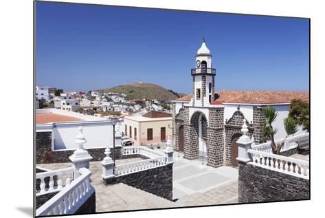 Iglesia Santa Maria De La Concepcion Church, Valverde, El Hierro, Canary Islands, Spain-Markus Lange-Mounted Photographic Print