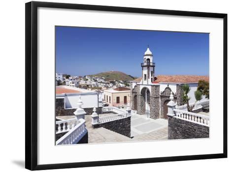 Iglesia Santa Maria De La Concepcion Church, Valverde, El Hierro, Canary Islands, Spain-Markus Lange-Framed Art Print