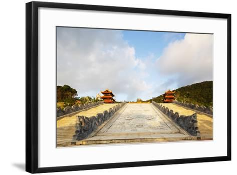 Thien Vien Truc Lam Ho Temple, Phu Quoc Island, Vietnam, Indochina, Southeast Asia, Asia-Christian Kober-Framed Art Print