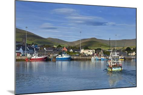 Fishing Harbour in Dingle Town, Dingle Peninsula, County Kerry, Ireland--Mounted Photographic Print