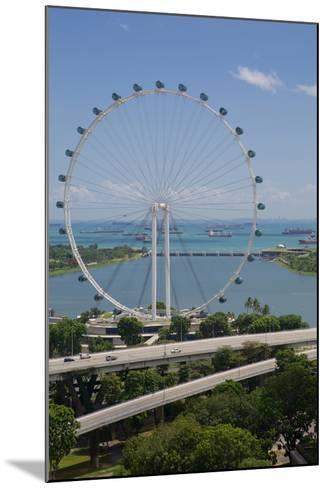 Marina Bay, Singapore Flyer, Singapore, Southeast Asia-Frank Fell-Mounted Photographic Print