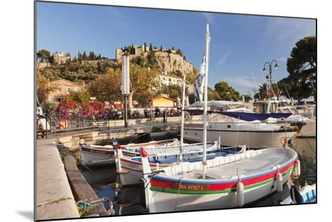 Fishing Boats at the Harbour, Southern France-Markus Lange-Mounted Photographic Print