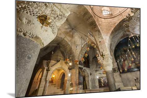 Chapel, Church of the Holy Sepulchre, Old City, Christian Quarter, Jerusalem, Middle East-Eleanor Scriven-Mounted Photographic Print