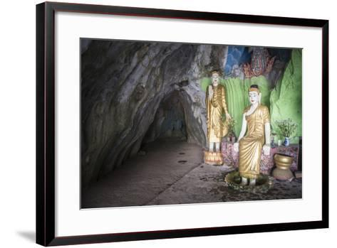 Cave Temple Near Mawlamyine, Mon State, Myanmar (Burma), Asia-Matthew Williams-Ellis-Framed Art Print