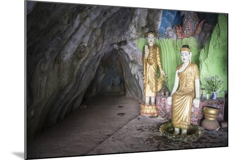 Cave Temple Near Mawlamyine, Mon State, Myanmar (Burma), Asia-Matthew Williams-Ellis-Mounted Photographic Print