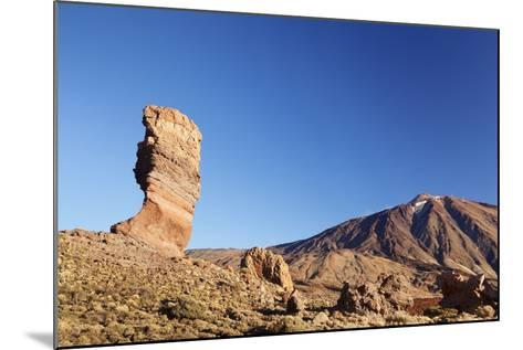 Los Roques De Garcia at Caldera De Las Canadas, National Park Teide, Canary Islands-Markus Lange-Mounted Photographic Print