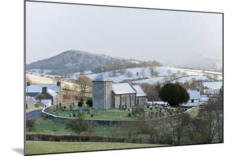 St. David's Church, Llanddewi'R Cwm, Powys, Wales, United Kingdom, Europe-Graham Lawrence-Mounted Photographic Print