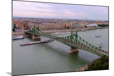 Szabadsag Hid (Liberty Bridge), Budapest, Hungary, Europe-Carlo Morucchio-Mounted Photographic Print