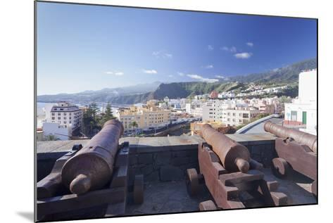 Castillo De La Virgen, Santa Cruz De La Palma, La Palma, Canary Islands, Spain, Atlantic, Europe-Markus Lange-Mounted Photographic Print