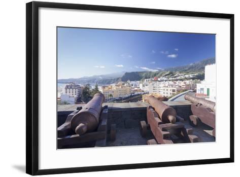 Castillo De La Virgen, Santa Cruz De La Palma, La Palma, Canary Islands, Spain, Atlantic, Europe-Markus Lange-Framed Art Print