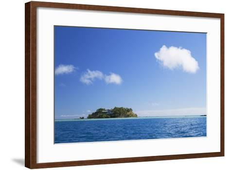 Wadigi Island, Mamanuca Islands, Fiji, South Pacific, Pacific-Ian Trower-Framed Art Print
