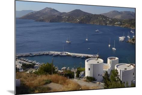 Old Windmills, Greek Islands-Nick Upton-Mounted Photographic Print
