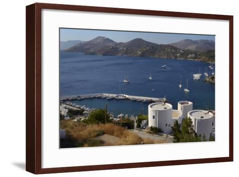 Old Windmills, Greek Islands-Nick Upton-Framed Art Print