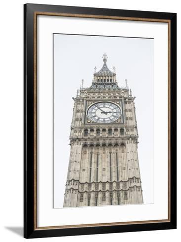 Big Ben (Elizabeth Tower), Houses of Parliament, Westminster, London, England, United Kingdom-Matthew Williams-Ellis-Framed Art Print