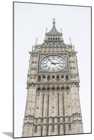 Big Ben (Elizabeth Tower), Houses of Parliament, Westminster, London, England, United Kingdom-Matthew Williams-Ellis-Mounted Photographic Print