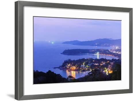 South East Asia, Thailand, Phuket, Kata Beach View Point-Christian Kober-Framed Art Print