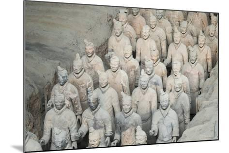 Museum of the Terracotta Warriors, Shaanxi Province, China-G & M Therin-Weise-Mounted Photographic Print