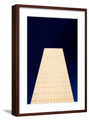 Manchester One Building, Manchester, England, United Kingdom, Europe-Bill Ward-Framed Art Print