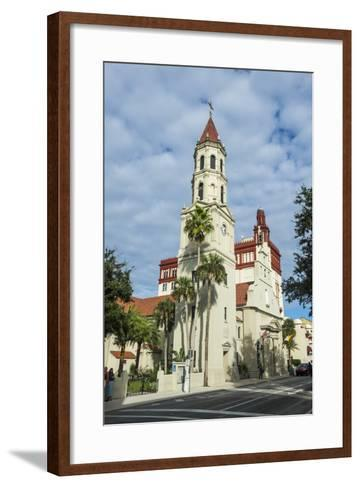 The Cathedral Basilica of St. Augustine, Florida-Michael Runkel-Framed Art Print