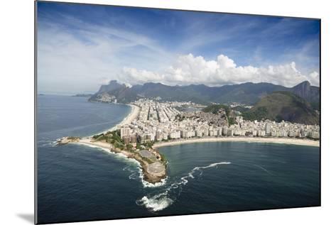 Aerial, Rio De Janeiro, Brazil, South America-Alex Robinson-Mounted Photographic Print