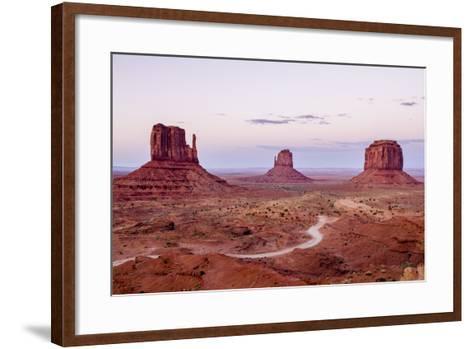 Monument Valley Navajo Tribal Park, Monument Valley, Utah, United States of America, North America-Michael DeFreitas-Framed Art Print